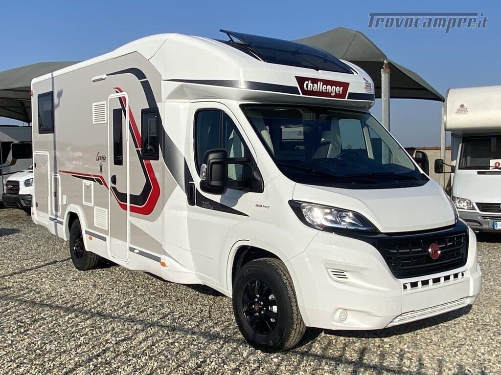 CHALLENGER 337 GA GRAPHITE VIP nuovo  in vendita a Torino - Immagine 1