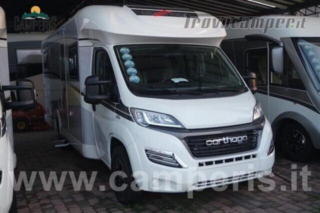 Semintegrale CARTHAGO CARTHAGO C-TOURER T 148 H usato  in vendita a Matera - Immagine 1