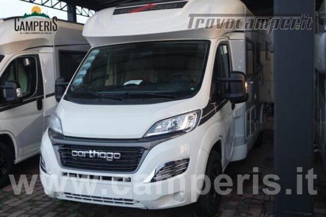 Semintegrale CARTHAGO CARTHAGO C-TOURER T 148 H usato  in vendita a Matera - Immagine 2