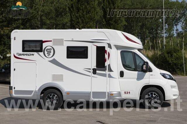Semintegrale elnagh elnagh baron 531 versione camperi nuovo  in vendita a Modena - Immagine 3