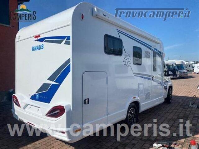 Semintegrale KNAUS KNAUS LIVE WAVE 650 MX nuovo  in vendita a Modena - Immagine 13