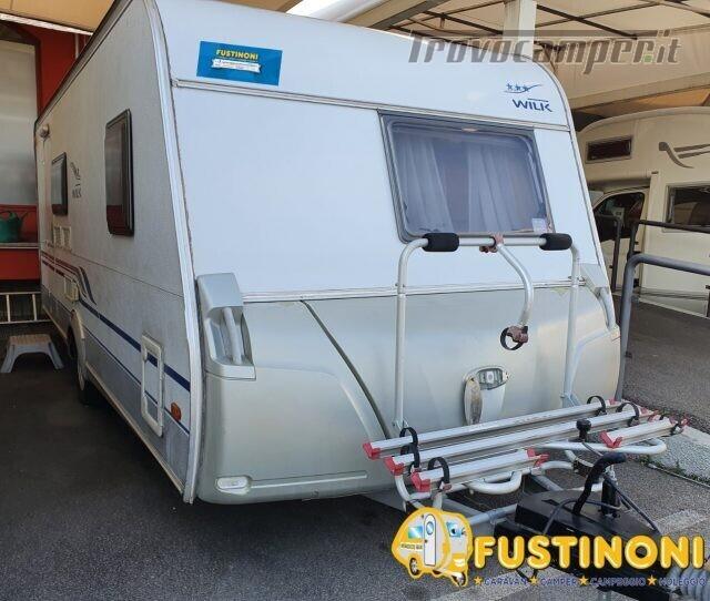 Roulotte KNAUS ACQUISTO CARAVAN USATE- FUSTINONI usato  in vendita a Bergamo - Immagine 3