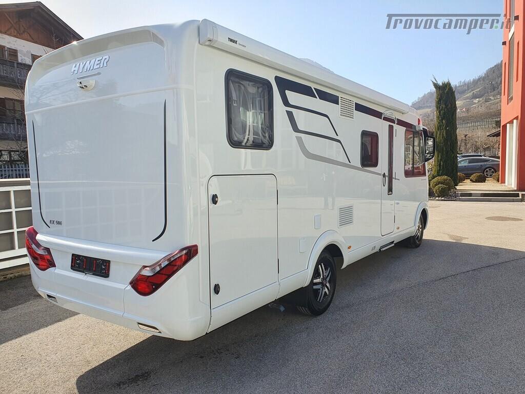 Motorhome Hymer Exsis I 580 usato  in vendita a Bolzano - Immagine 4