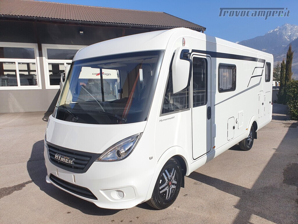 Motorhome Hymer Exsis I 580 usato  in vendita a Bolzano - Immagine 2