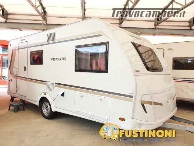 Roulotte WEINSBERG CARAVAN NUOVA CARAONE 420 QD nuovo  in vendita a Bergamo - Immagine 1