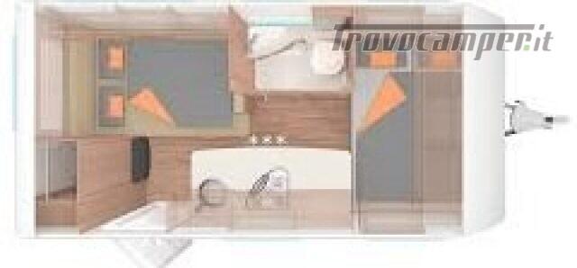 Roulotte WEINSBERG CARAVAN NUOVA CARAONE 420 QD nuovo  in vendita a Bergamo - Immagine 2
