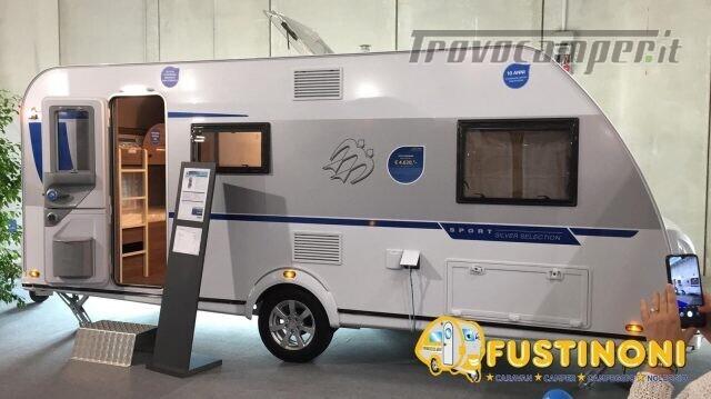 Roulotte KNAUS CARAVAN NUOVA SPORT 500 QDK SILVER nuovo  in vendita a Bergamo - Immagine 1