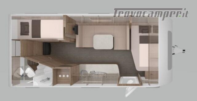 Roulotte KNAUS CARAVAN NUOVA SPORT 580 QS  SILVER nuovo  in vendita a Bergamo - Immagine 2