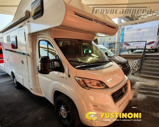 Mansardato WEINSBERG 600 DKG CARAHOME  2021 NUOVO C usato  in vendita a Bergamo - Immagine 1