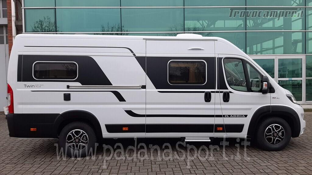 Van ADRIA TWIN PLUS 640 SGX con bagno vario nuovo  in vendita a Pavia - Immagine 6
