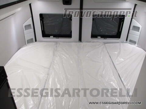 Adria New Twin Supreme 600 SPB silver gamma 2021 van 599 cm PRONTA CONSEGNA usato  in vendita a Brescia - Immagine 18
