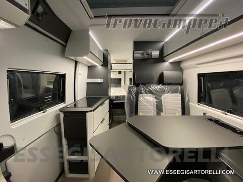 Adria New Twin Supreme 600 SPB silver gamma 2021 van 599 cm PRONTA CONSEGNA usato  in vendita a Brescia - Immagine 8
