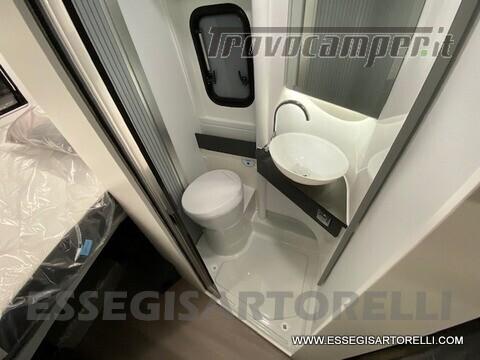 Adria New Twin Supreme 600 SPB silver gamma 2021 van 599 cm PRONTA CONSEGNA usato  in vendita a Brescia - Immagine 5