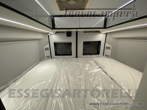 Adria New Twin Supreme 600 SPB silver gamma 2021 van 599 cm PRONTA CONSEGNA usato  in vendita a Brescia - Immagine 7