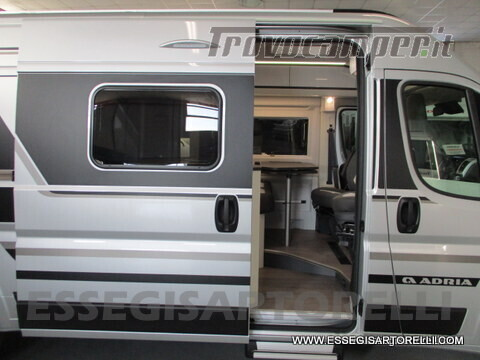 Adria New Twin Supreme 600 SPB silver gamma 2021 van 599 cm PRONTA CONSEGNA usato  in vendita a Brescia - Immagine 20