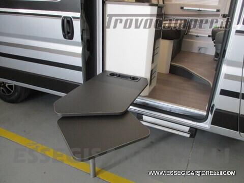 Adria New Twin Supreme 600 SPB silver gamma 2021 van 599 cm PRONTA CONSEGNA usato  in vendita a Brescia - Immagine 15