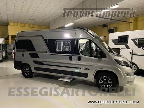 Adria New Twin Supreme 600 SPB silver gamma 2021 van 599 cm PRONTA CONSEGNA usato  in vendita a Brescia - Immagine 2