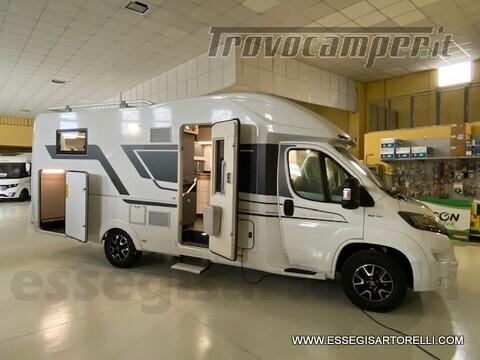 Adria NEW MATRIX PLUS 670 SL 160 POWER 2021 doppio pavimento gemelli basculante nuovo  in vendita a Brescia - Immagine 1