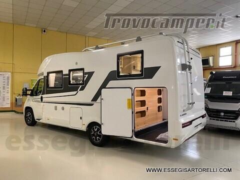 Adria NEW MATRIX PLUS 670 SL 160 POWER 2021 doppio pavimento gemelli basculante nuovo  in vendita a Brescia - Immagine 2