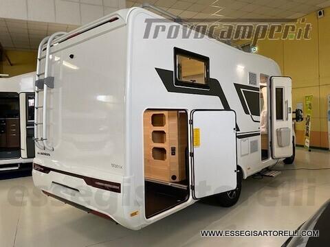 Adria NEW MATRIX PLUS 670 SL 160 POWER 2021 doppio pavimento gemelli basculante nuovo  in vendita a Brescia - Immagine 3
