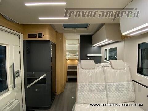Adria NEW MATRIX PLUS 670 SL 160 POWER 2021 doppio pavimento gemelli basculante nuovo  in vendita a Brescia - Immagine 9