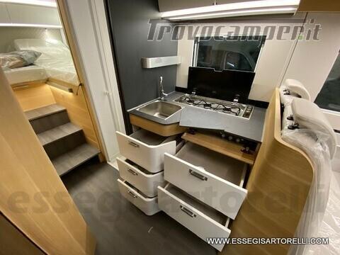 Adria NEW MATRIX PLUS 670 SL 160 POWER 2021 doppio pavimento gemelli basculante nuovo  in vendita a Brescia - Immagine 12