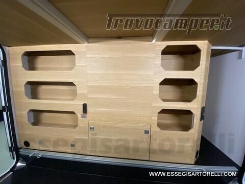 Adria NEW MATRIX PLUS 670 SL 160 POWER 2021 doppio pavimento gemelli basculante nuovo  in vendita a Brescia - Immagine 16