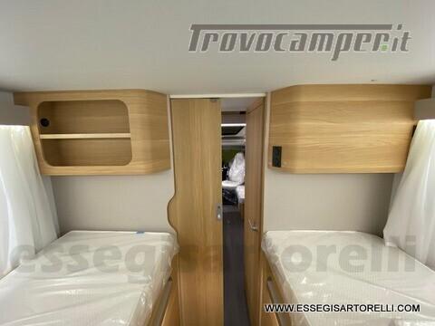Adria NEW MATRIX PLUS 670 SL 160 POWER 2021 doppio pavimento gemelli basculante nuovo  in vendita a Brescia - Immagine 19