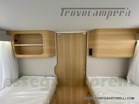Adria NEW MATRIX PLUS 670 SL 160 POWER 2021 doppio pavimento gemelli basculante nuovo  in vendita a Brescia - Immagine 20
