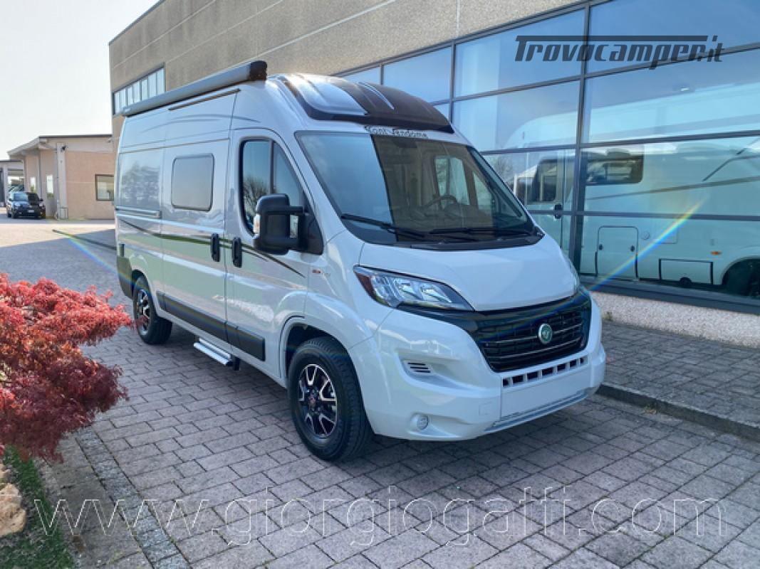 Camper puro Fontvendome Horizon 107 van da 5,41 mt con riscaldamento diesel usato  in vendita a Alessandria - Immagine 1