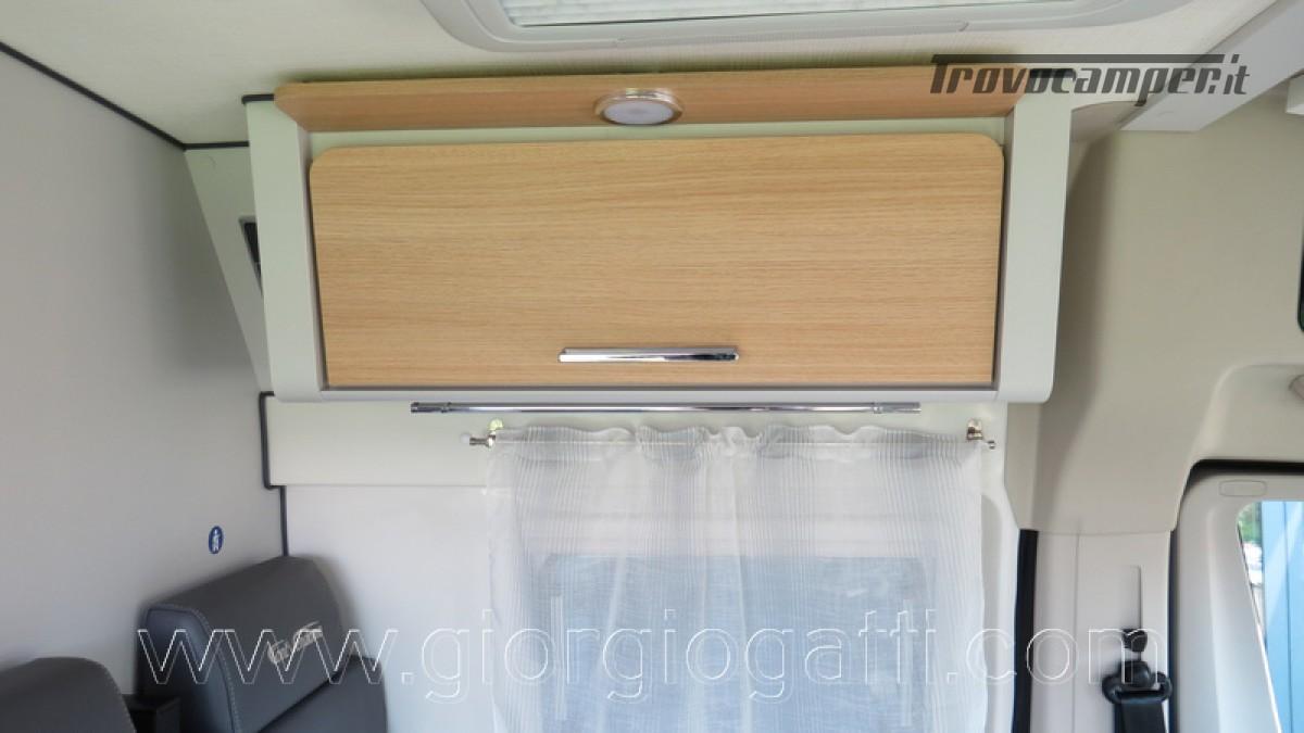 Camper puro Fontvendome Horizon 107 van da 5,41 mt con riscaldamento diesel usato  in vendita a Alessandria - Immagine 9