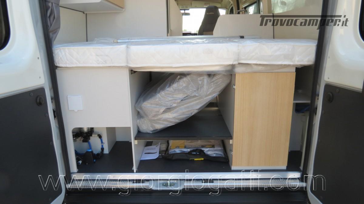 Camper puro Fontvendome Horizon 107 van da 5,41 mt con riscaldamento diesel usato  in vendita a Alessandria - Immagine 11