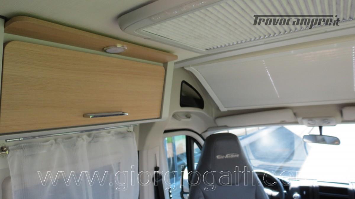 Camper puro Fontvendome Horizon 107 van da 5,41 mt con riscaldamento diesel usato  in vendita a Alessandria - Immagine 14