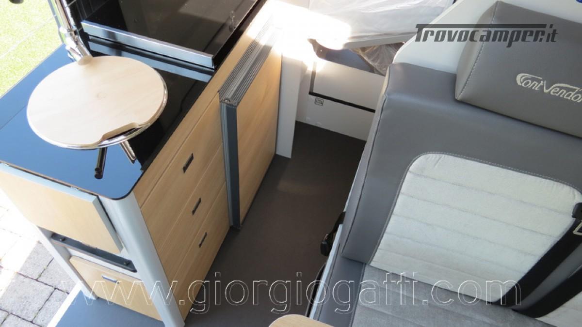 Camper puro Fontvendome Horizon 107 van da 5,41 mt con riscaldamento diesel usato  in vendita a Alessandria - Immagine 20