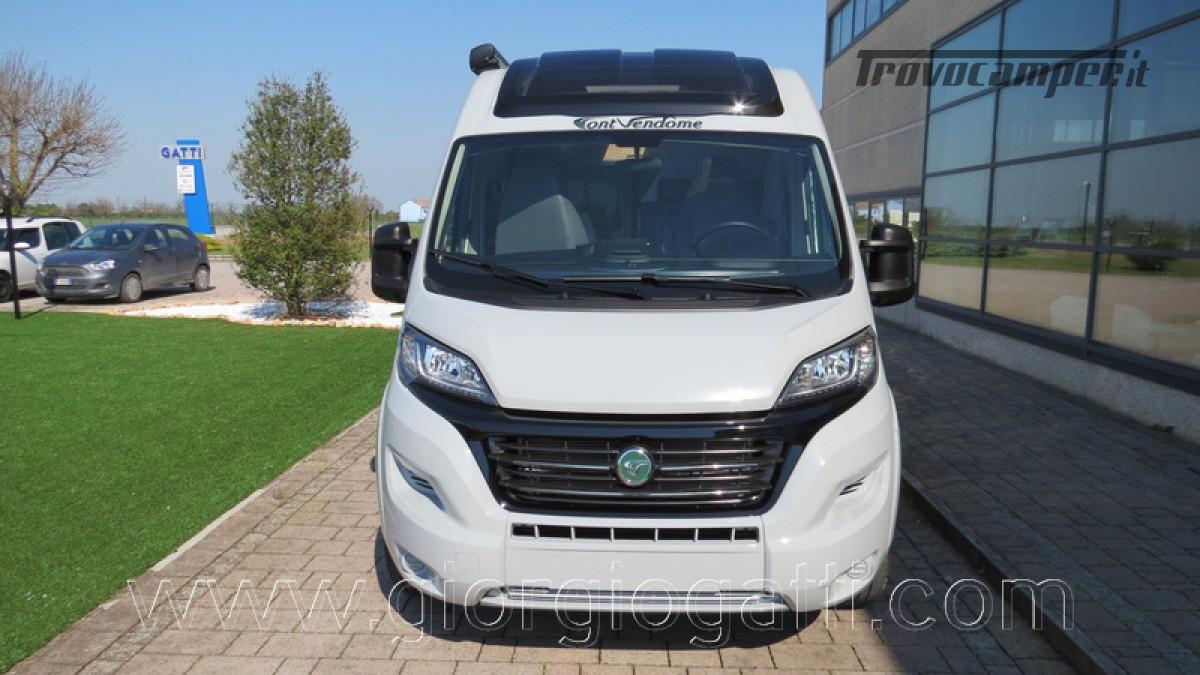 Camper puro Fontvendome Horizon 107 van da 5,41 mt con riscaldamento diesel usato  in vendita a Alessandria - Immagine 26