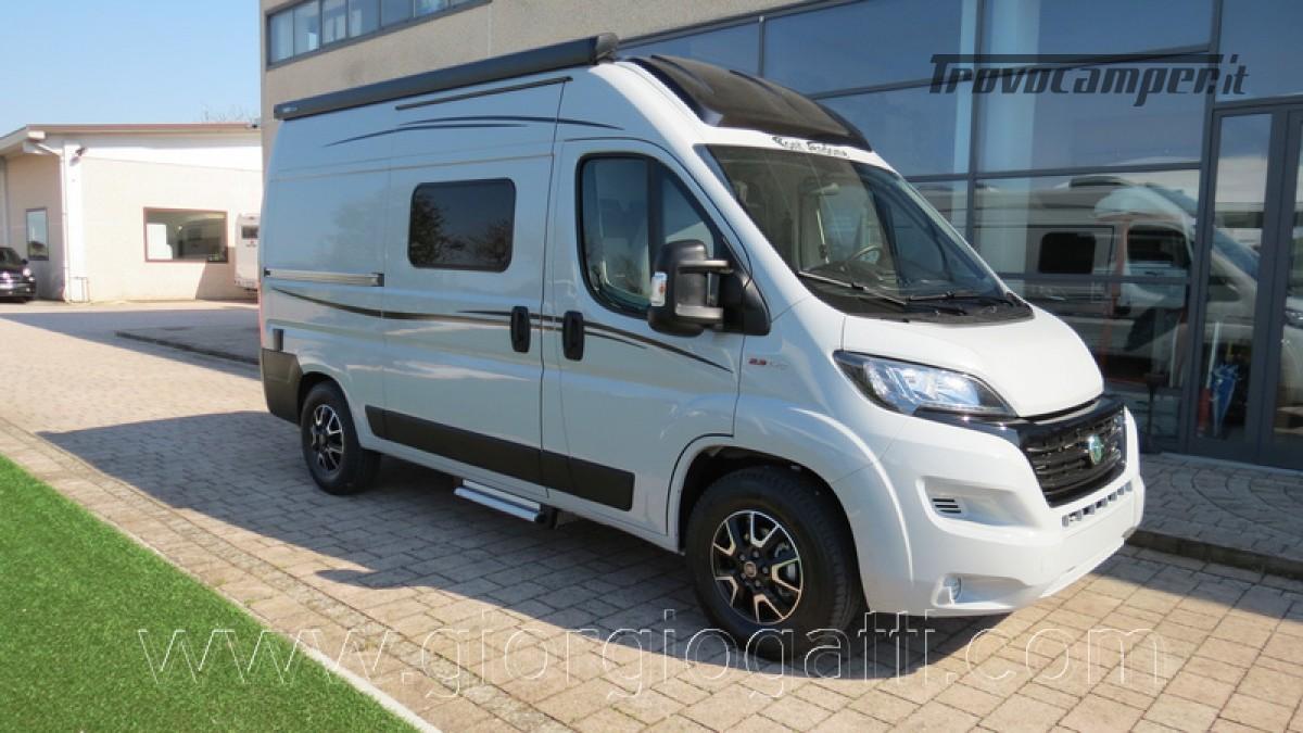 Camper puro Fontvendome Horizon 107 van da 5,41 mt con riscaldamento diesel usato  in vendita a Alessandria - Immagine 30