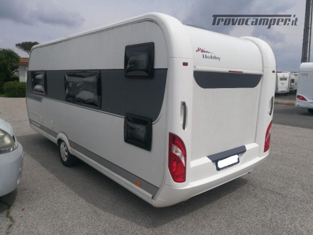 Camper puro HOBBY excellent 540 usato  in vendita a Roma - Immagine 3