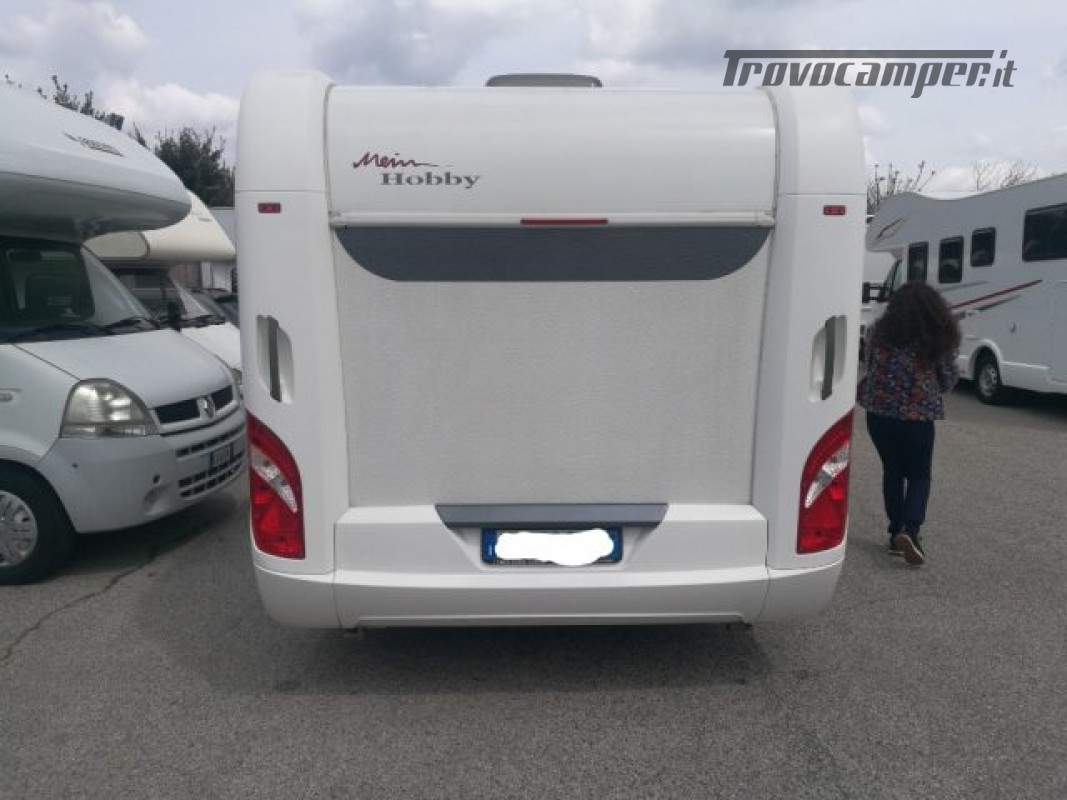 Camper puro HOBBY excellent 540 usato  in vendita a Roma - Immagine 4