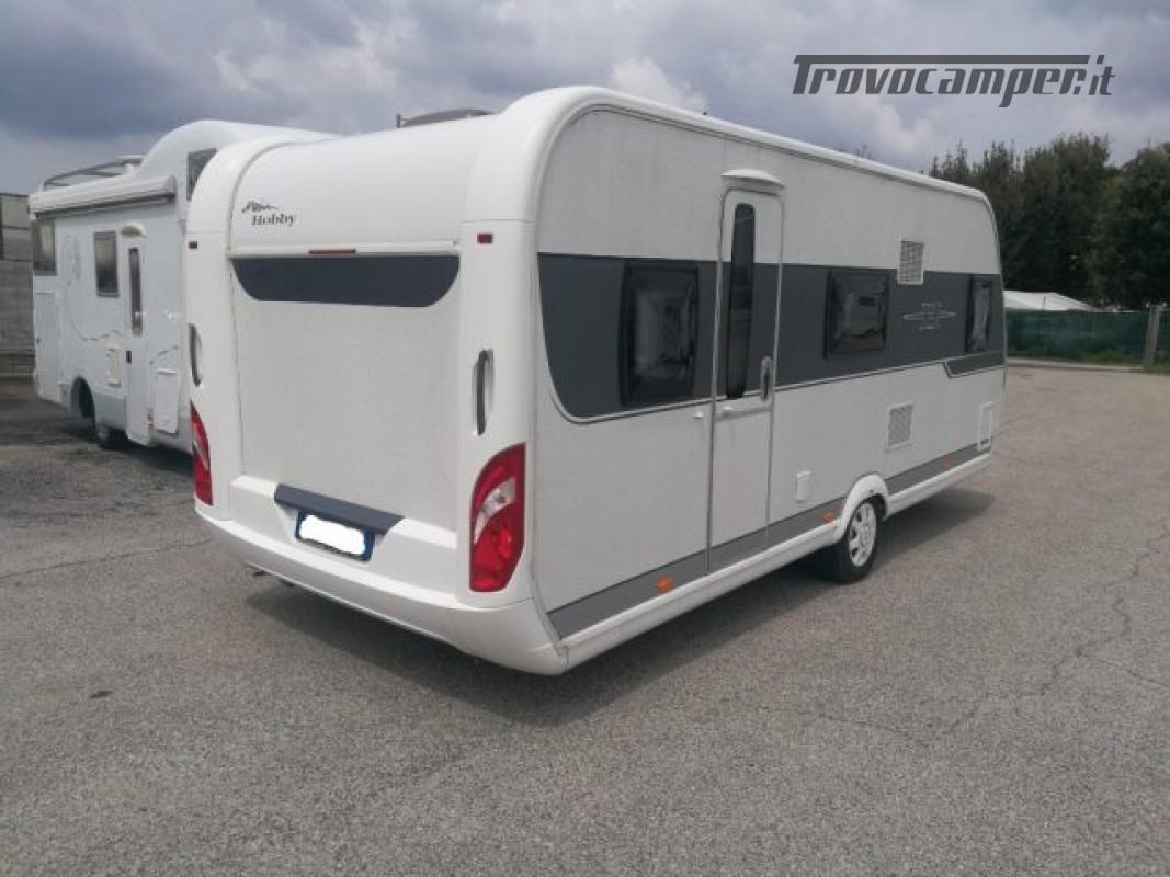 Camper puro HOBBY excellent 540 usato  in vendita a Roma - Immagine 5