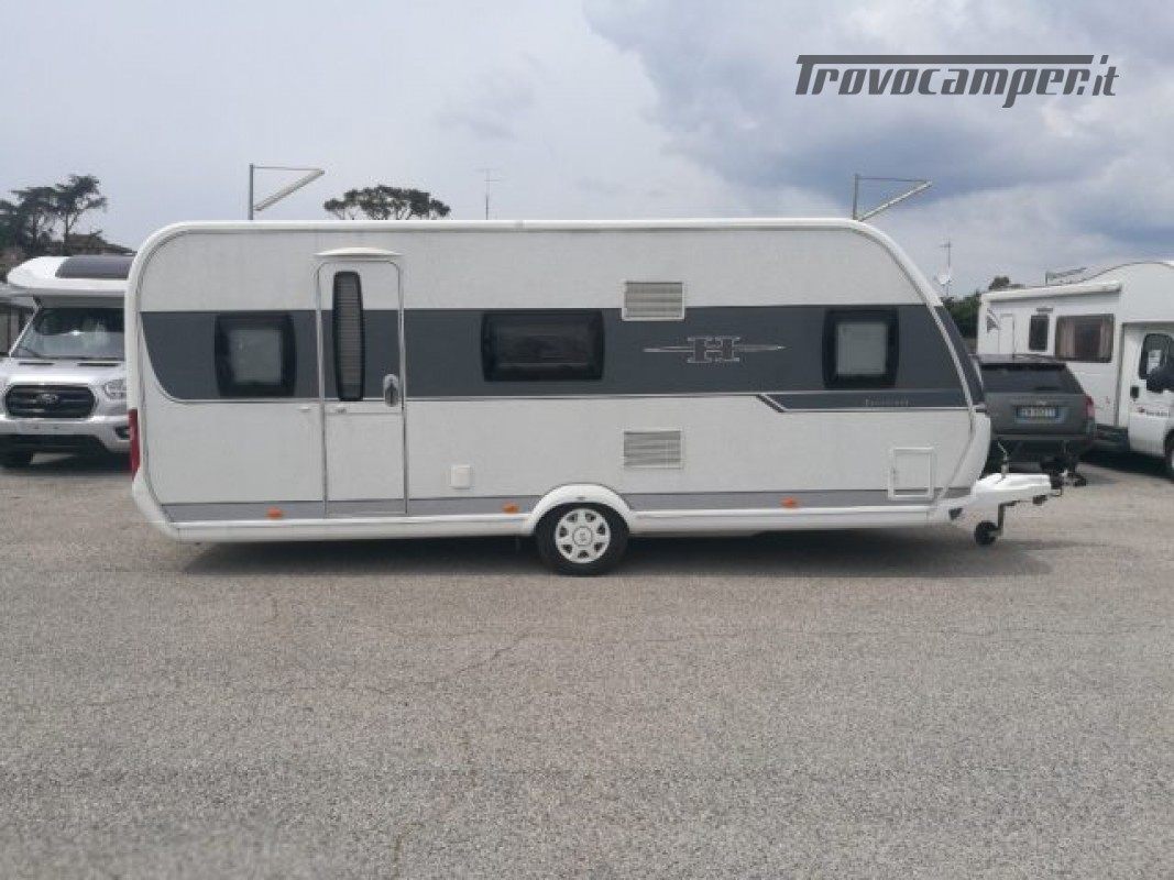 Camper puro HOBBY excellent 540 usato  in vendita a Roma - Immagine 6
