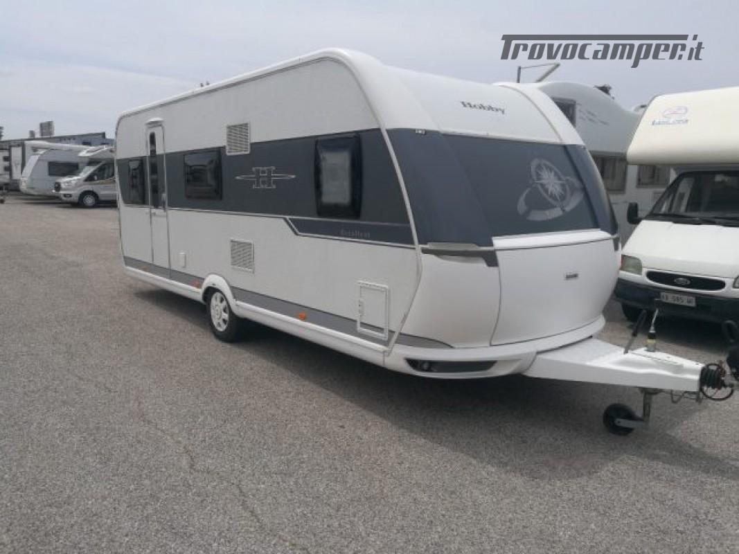 Camper puro HOBBY excellent 540 usato  in vendita a Roma - Immagine 7