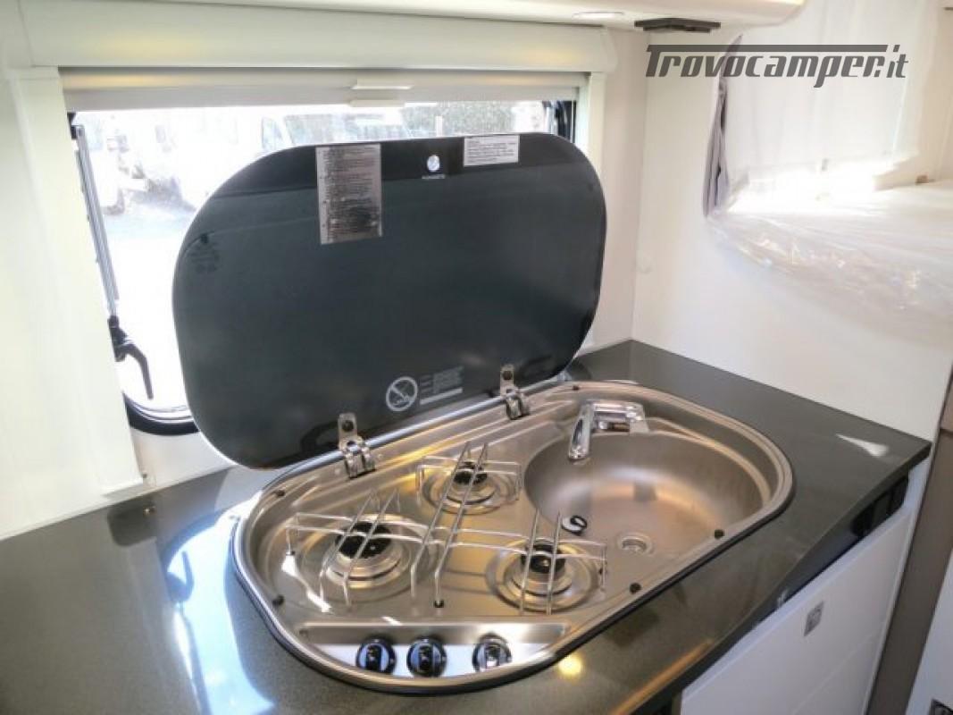 Semintegrale BLUCAMP Ocean 12 3 posti letto - DISPONI nuovo  in vendita a Massa-Carrara - Immagine 8