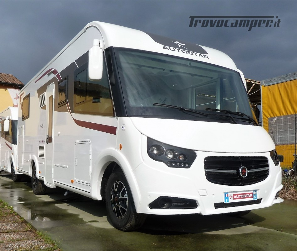 Motorhome Autostar Celtic Edition I730LC - Letto Nautico usato  in vendita a Modena - Immagine 2
