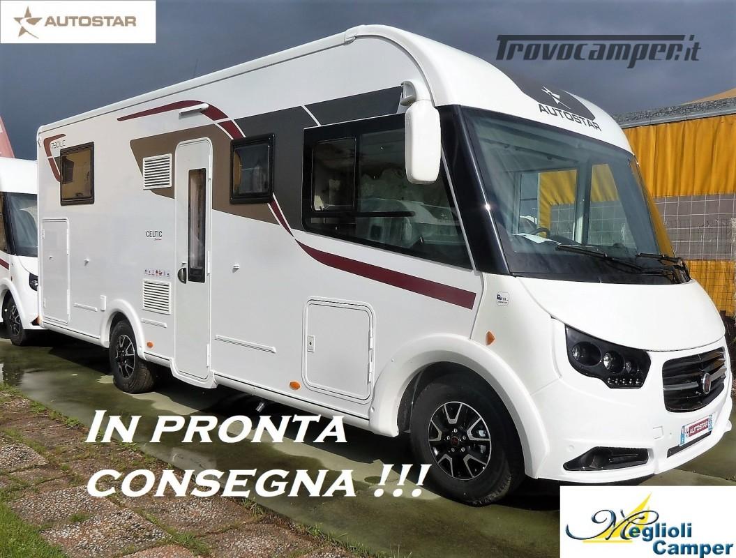 Motorhome Autostar Celtic Edition I730LC - Letto Nautico usato  in vendita a Modena - Immagine 1