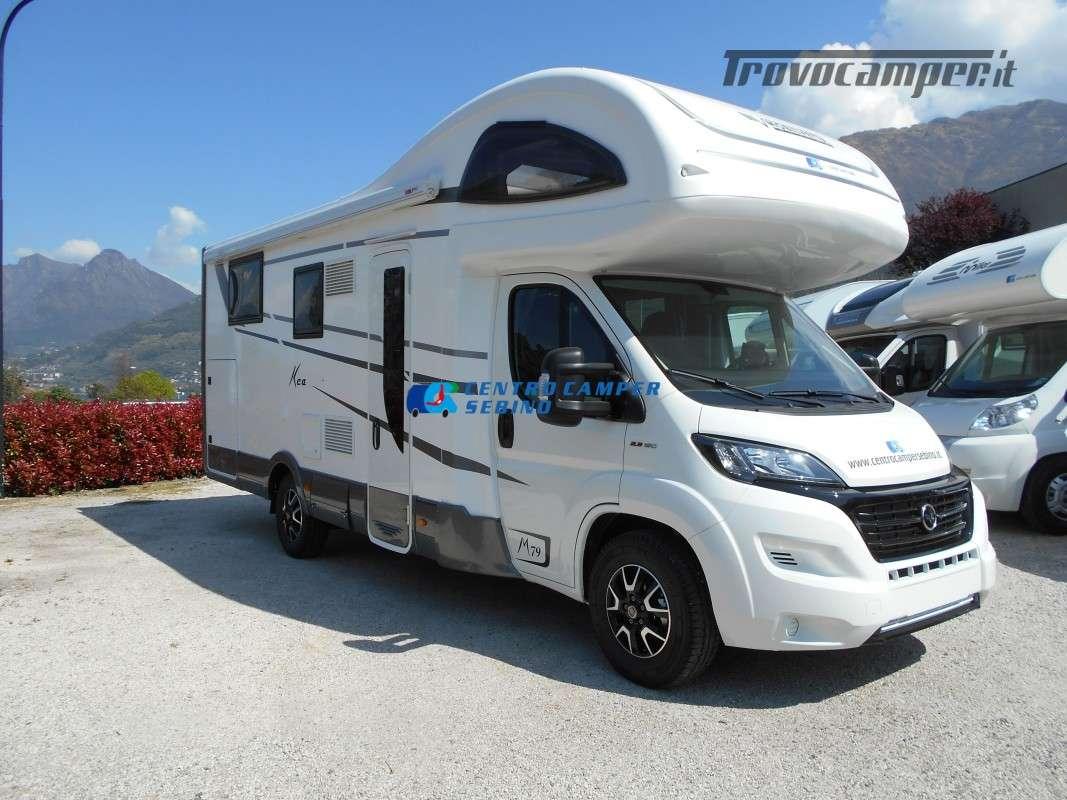 Noleggio Mobilvetta Kea M 79 camper mansardato con letto nautico e garage usato  in vendita a Brescia - Immagine 1