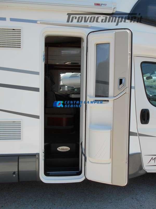 Noleggio Mobilvetta Kea M 79 camper mansardato con letto nautico e garage usato  in vendita a Brescia - Immagine 13
