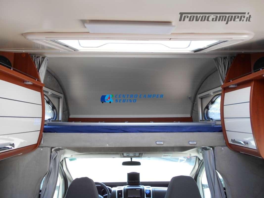 Noleggio Mobilvetta Kea M 79 camper mansardato con letto nautico e garage usato  in vendita a Brescia - Immagine 15