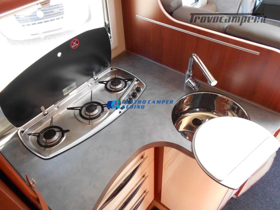 Noleggio Mobilvetta Kea M 79 camper mansardato con letto nautico e garage usato  in vendita a Brescia - Immagine 20