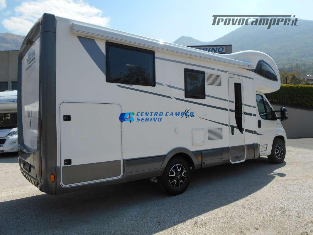 Noleggio Mobilvetta Kea M 79 camper mansardato con letto nautico e garage usato  in vendita a Brescia - Immagine 8