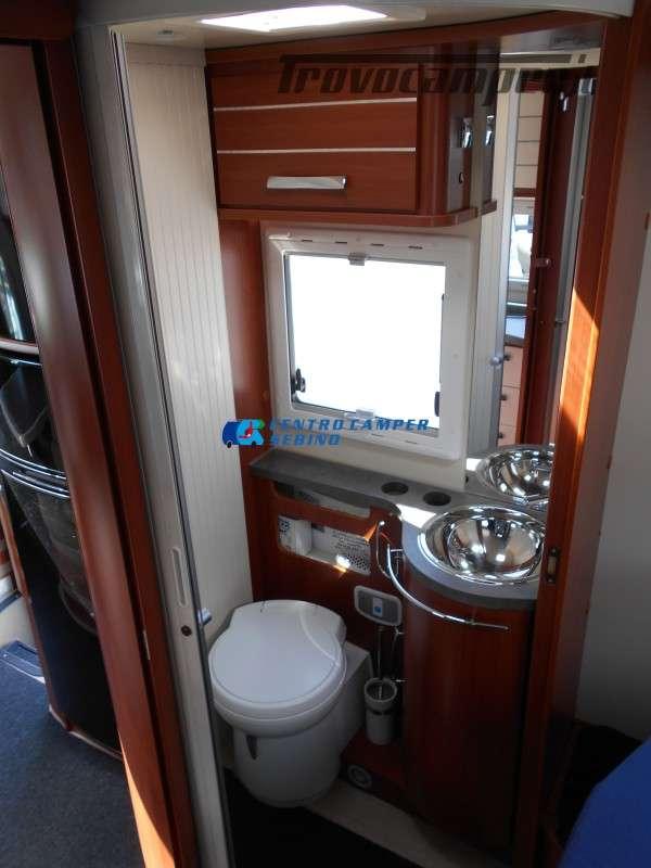 Noleggio Mobilvetta Kea M 79 camper mansardato con letto nautico e garage usato  in vendita a Brescia - Immagine 30